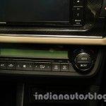 2014 Toyota Corolla aircon controls at Auto Expo 2014