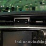 2014 Toyota Corolla dashboard MID at Auto Expo 2014