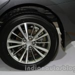 2014 Toyota Corolla alloy wheel at Auto Expo 2014