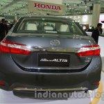 2014 Toyota Corolla rear at Auto Expo 2014
