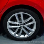 2014 VW Polo facelift alloy wheel at Geneva Motor Show 2014