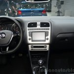 2014 VW Polo facelift dashboard at Geneva Motor Show 2014