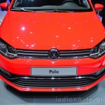 2014 VW Polo facelift nose at Geneva Motor Show 2014