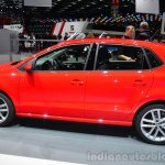 2014 VW Polo facelift side at Geneva Motor Show 2014