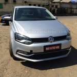 2014 VW Polo facelift spied India