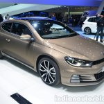 2014 VW Scirocco Facelift front three quarters at Geneva Motor Show