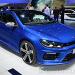 2014 VW Scirocco R Facelift front three quarters at Geneva Motor Show
