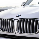 2015 BMW X3 facelift press shot grille