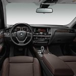 2015 BMW X3 facelift press shot interior