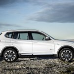 2015 BMW X3 facelift press shot side