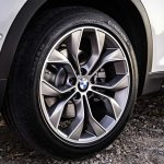 2015 BMW X3 facelift press shot wheel