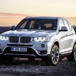2015 BMW X3 facelift press shot