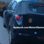 2015 Hyundai i20 rear spyshot from Chennai