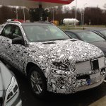 2015 Mercedes M Class facelift caught in Europe