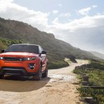 2015 Range Rover Evoque Autobiography Dynamic Press Shot front