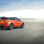2015 Range Rover Evoque Autobiography Dynamic Press Shot rear quarter