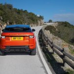 2015 Range Rover Evoque Autobiography Dynamic Press Shot rear