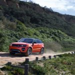 2015 Range Rover Evoque Autobiography Dynamic Press Shot