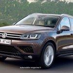 2015 VW Touareg rendering