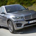 2016 BMW X6 rendering