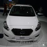 Accessorized Datsun Go at Auto Expo 2014 front