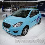 Accessorized Datsun Go at Auto Expo 2014