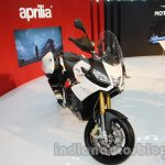 Aprilia Caponord 1200 front three quarters at Auto Expo 2014