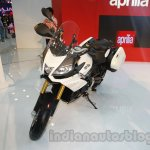Aprilia Caponord 1200 front three quarters right at Auto Expo 2014