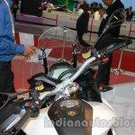 Aprilia Caponord 1200 handlebar at Auto Expo 2014