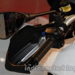 Aprilia Caponord 1200 mirror at Auto Expo 2014