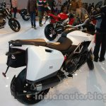 Aprilia Caponord 1200 rear three quarters right at Auto Expo 2014