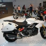 Aprilia Caponord 1200 side view at Auto Expo 2014