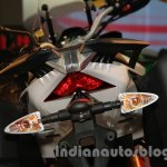 Aprilia Caponord 1200 taillamp at Auto Expo 2014