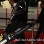 Aprilia Caponord 1200 throttle at Auto Expo 2014