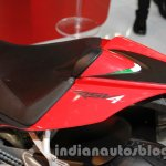 Aprilia RSV4 R ABS badge at Auto Expo 2014