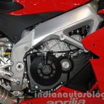 Aprilia RSV4 R ABS engine at Auto Expo 2014