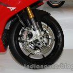 Aprilia RSV4 R ABS front wheel at Auto Expo 2014