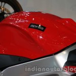 Aprilia RSV4 R ABS fuel tank at Auto Expo 2014