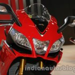 Aprilia RSV4 R ABS headlamp at Auto Expo 2014
