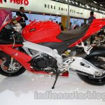 Aprilia RSV4 R ABS profile at Auto Expo 2014