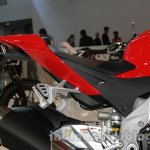 Aprilia RSV4 R ABS seat at Auto Expo 2014