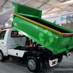 Ashok Leyland Dost tipper hydraulic lift arm live