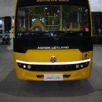 Ashok Leyland MiTR school bus front live