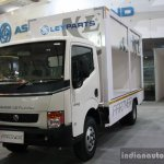 Ashok Leyland Partner curtain slider front three quarter live