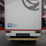 Ashok Leyland Partner curtain slider rear live