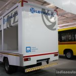 Ashok Leyland Partner curtain slider rear three quarter live