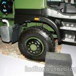 Ashok Leyland Stallion 6X6 front wheel detail live