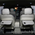 Ashok Leyland Stile customized captain seats rear at Auto Expo 2014