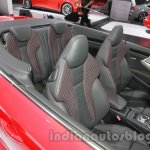 Audi A3 Cabriolet at Auto Expo 2014 front seat