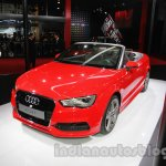 Audi A3 Cabriolet at Auto Expo 2014 front three quarters
